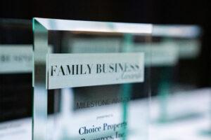 2021 Family Business Awards Program